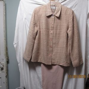 Alfred Dunner pants suit size 14